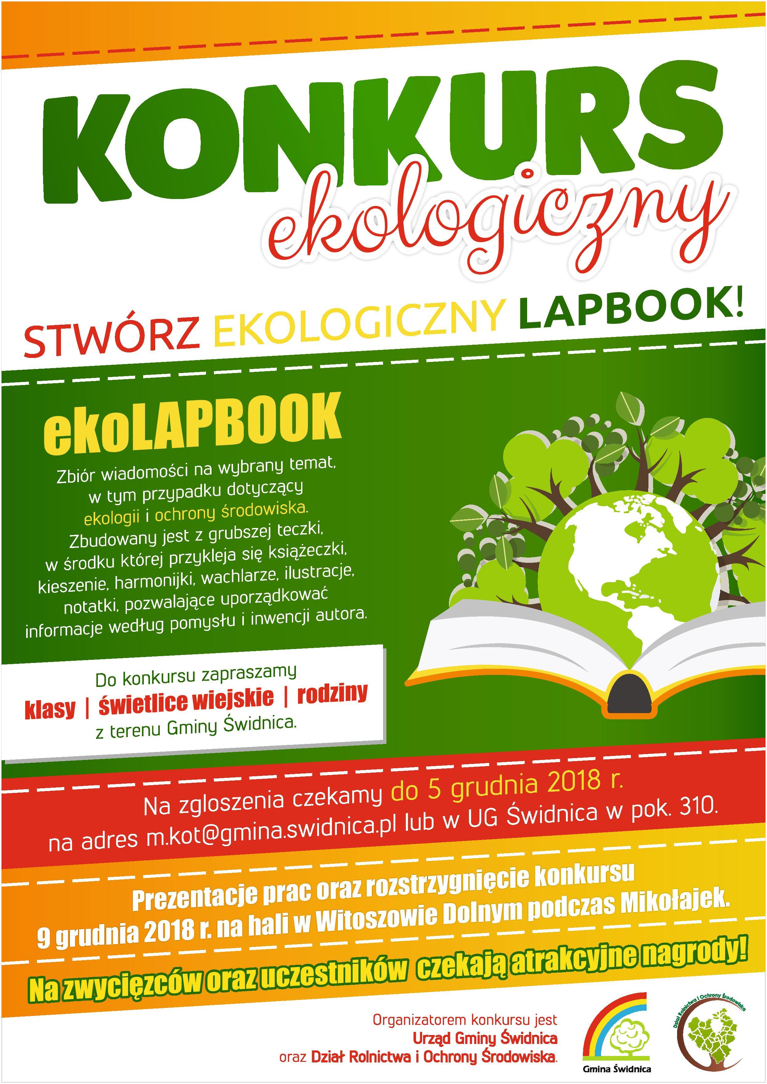 Konkurs Ekologiczny Eko Lapbook